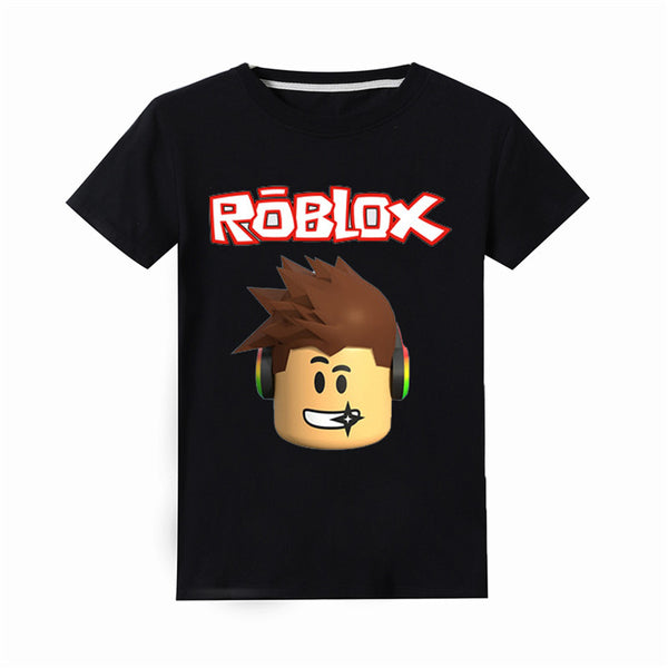 Boy Girl Roblox T-Shirts Unisex Summer Short Sleeve Tee 4-14T