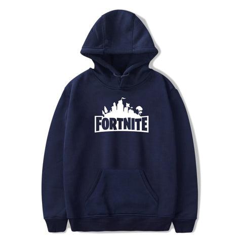 Youth Fortnite Cake Print Hoodie Unisex Casual Sweatshirt