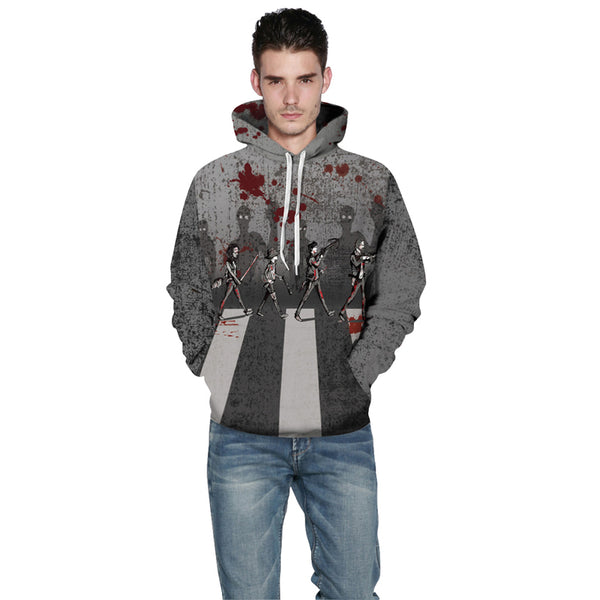 Superhero Hoodies 3D pattern Sweatshirt
