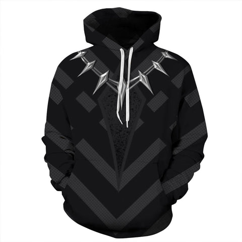 Superhero Pullover Hoodies 3D Pattern Sweatshirt