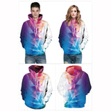 Long Sleeve Hoodies 3D Painted Geometric Abstract Graphic