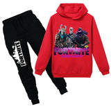 Kids Fortnite Hoodie Set Pullover Sweatshirt