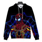 Casual Hoodies Printing Spider-Man Far From Home Costume