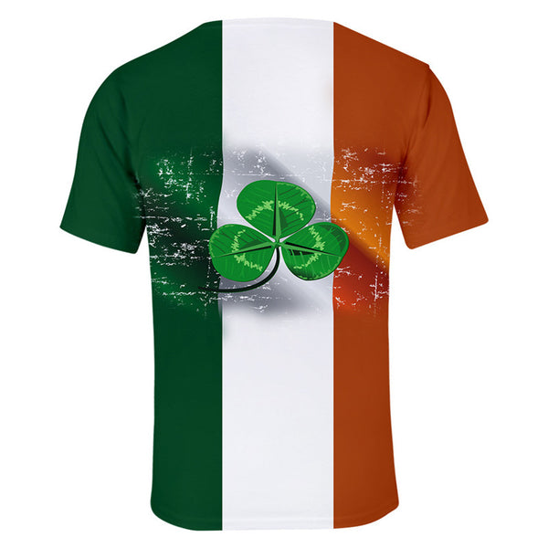 St Patrick Shirt For Unisex Irish shamrock Costume Tshirt