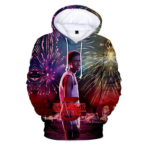 Stranger Things Season 3 Hoodie 3D Hooded Sweatshirt