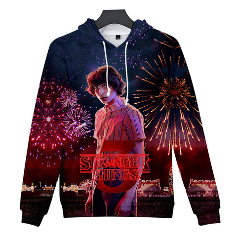 Mike Wheeler Stranger Things 3D Hoodie
