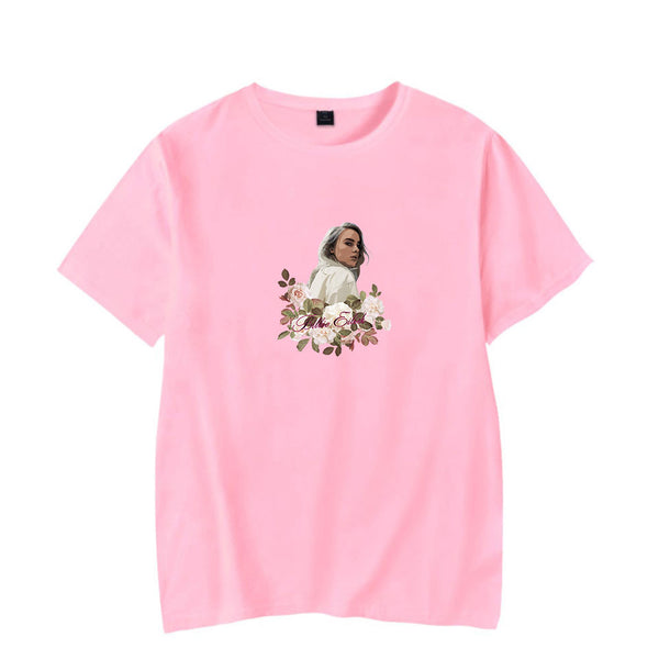 Unisex Billie Eilish T-Shirt Print Hip Hop Novelty Shirts