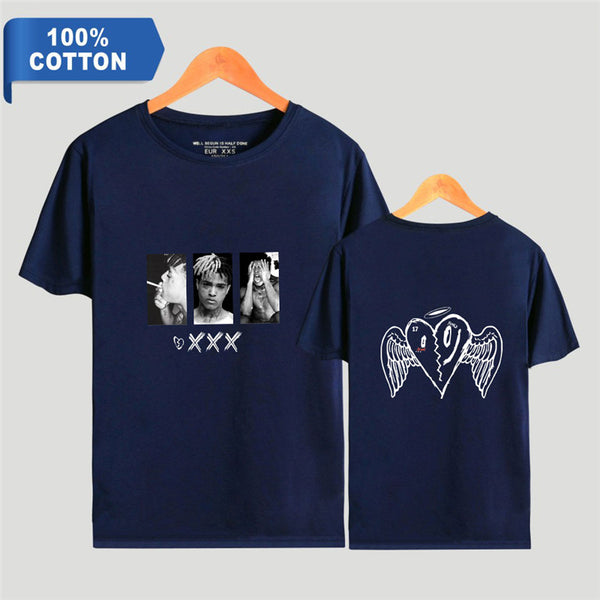 Unisex Tee Shirts with Rapper RIP Xxxtentacion Shirt