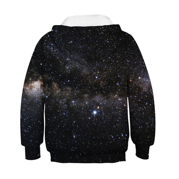 Boys Girls Novelty Animal Galaxy Hoodies Sweatshirt 4-13Y