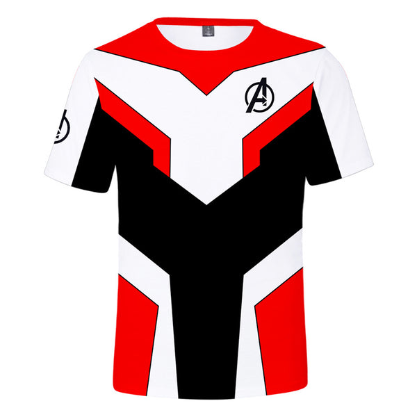 Avengers Endgame T-shirt Suit Cosplay Costumes Short Set