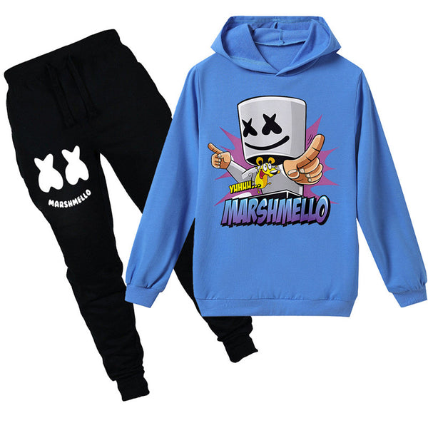 Marshmello Costume Ideal Gift For 4-13Y