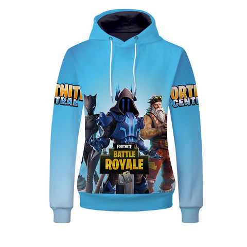 Kids Fortnite Hoodie Casual Sweatshirt Pullover Hoodies