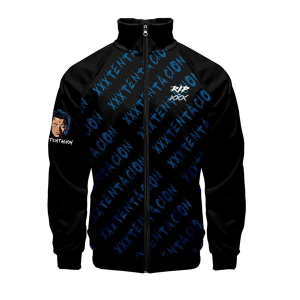 Xxxtentacion Jacket  Long Sleeve Sport Sweatshirt Mens Coat
