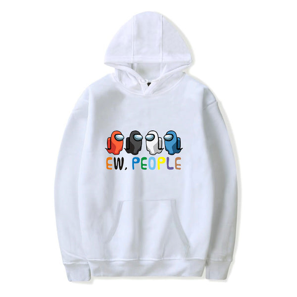 Unisex Cute Among Us Hoodie Sweatshirt Ideal Present