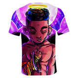 Xxxtentacion T-Shirt Summer cotton Short Sleeve Mens T Shirt
