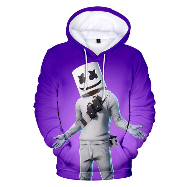 Youth Marshmello Sweatshirt Casual Sweatshirt