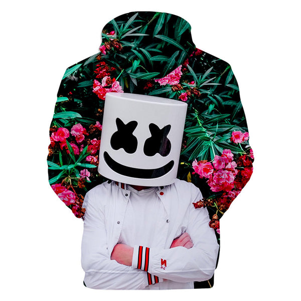 Youth Marsh-mello Hoodie Casual Sweatshirt
