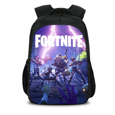 Fortnite Game Backpack For School Girls Boys Bookbag Outdoor Daypack