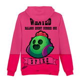 Girls Brawl Stars Pullover Hoodie Long Sleeve Clothing