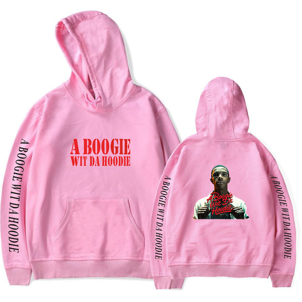 Unisex A Boogie Print Hooded Sweatshirt For Fans Support