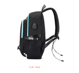 Tik Tok Backpack Luminous School Bag With USB Charging Port