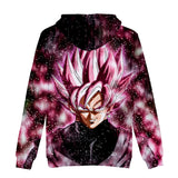 Dragon Ball Hooded Sweatshirt Pullover Hoodie