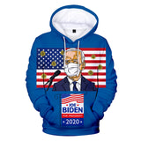Long Sleeve Biden Harries Hoodie Pullover Hooded Sweatshirt