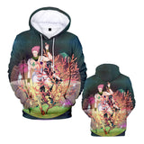 Hunter Hisoka Hooded Sweatshirts Hisoka Print Casual Hoodie