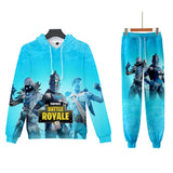Fortnite Suit 3D Print Hoodie&Pants