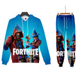 Fortnite Suit 3D Print Fortnite Outfit Hoodie&Pants
