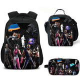 2019 Youth New Fortnite 3D Backpacks For School