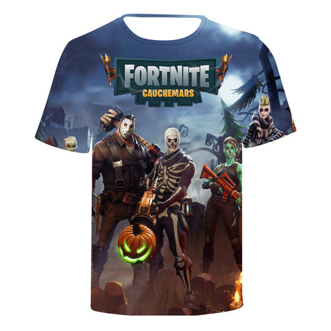 Fortnite T-shirt  3D Print Short Sleeve T-SHIT