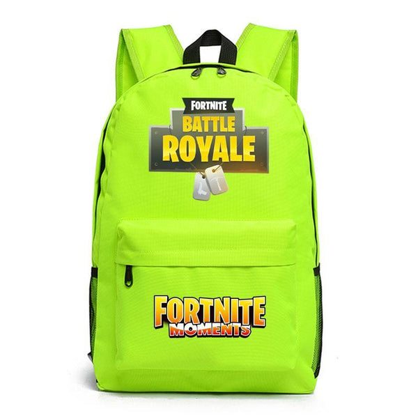 Kids Children Fortnite Backpack School Bag