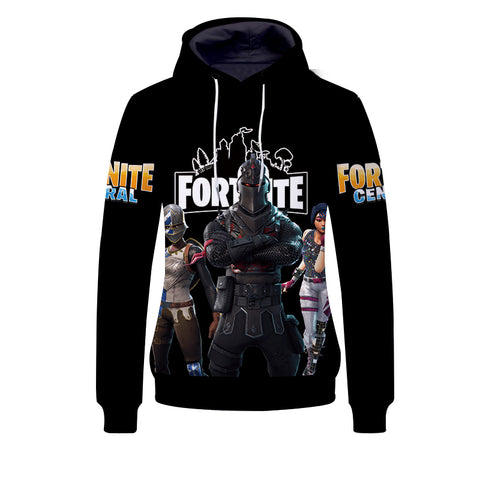 Unisex Youth Fortnite Hoodie Casual Sweatshirt