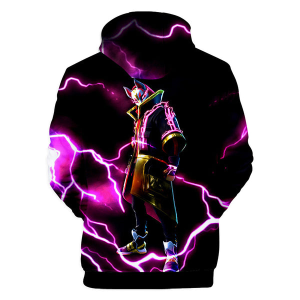 Hot Fortnite Game Hoodie 3D Pullover Sweatshirt