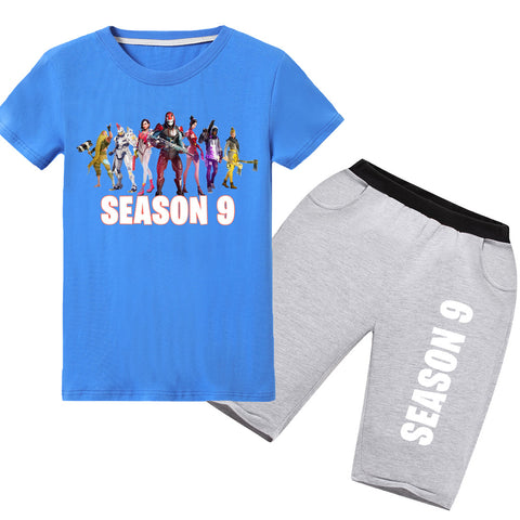 Fortnite Short Sets Kids Season 9 Sets