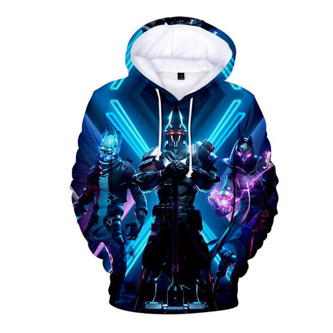 Fortnite Season X Hoodie Fornight Long Sleeve Sweatshirt
