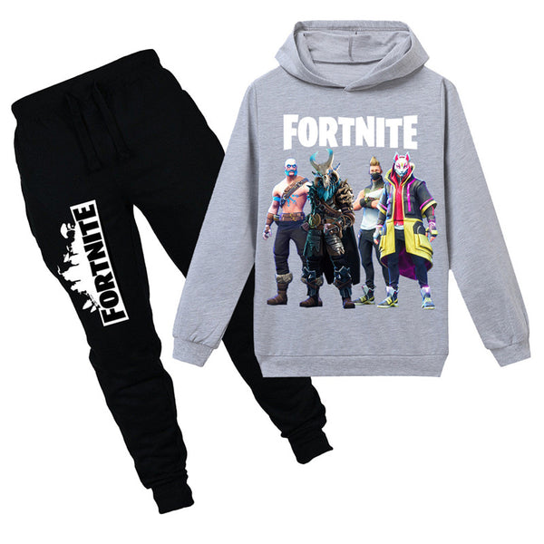 Fortnite Sweatshirt With Pants For Kids Hoodie Set
