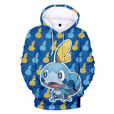 Unisex Pokemon Pullover Hoodie For Youth