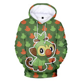 Youth Pokemon Sweatshirt 3D Pullover Hoodie