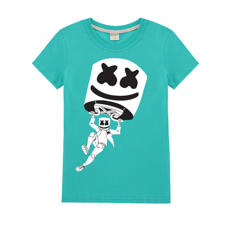 ce13380e Kids Cotton T-Shirt Marshmello Cute T shirt – uhoodie