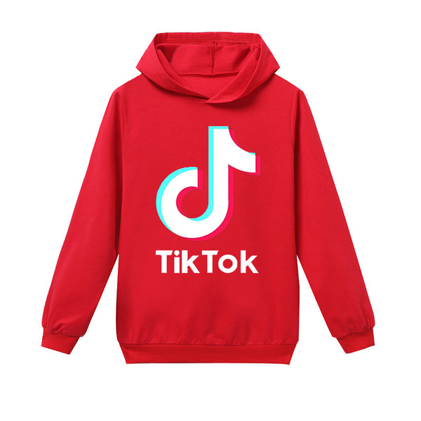Kids Cotton Tik Tok Hoodie Printed Sweatshirt Kids Size