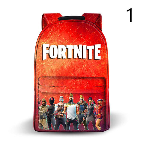 Fortnite Battle Royale Backpack Leather School Bags