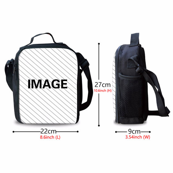 3In1 Mo Hero Academia Backpack Suits For Teens With Bakugo Lunch Box Pencil Bag