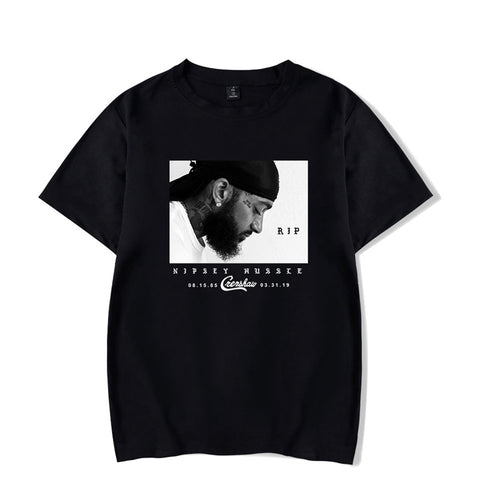 Mens Nipsey Hussle RIP Short Sleeve Tee Shirt