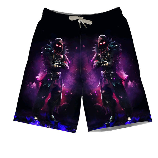 Fortnite T-shirt and Pants Sets Raven Clothing Set