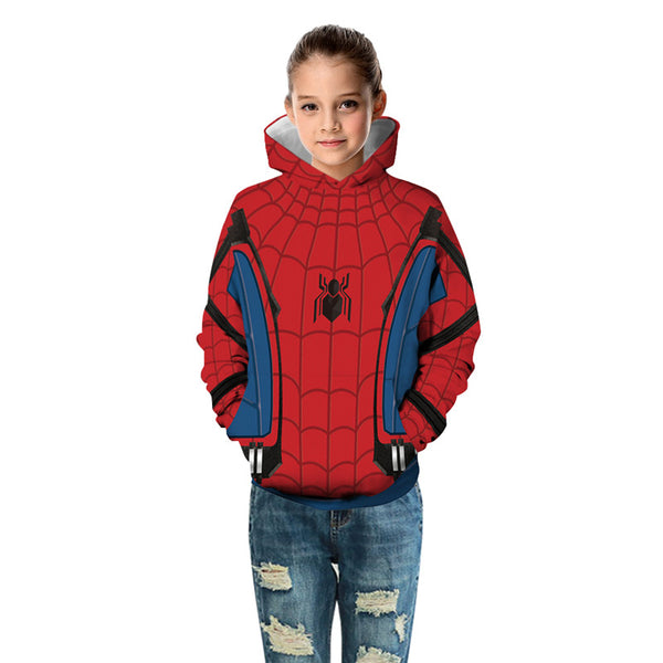 Spideman Sportswear Kids Spider-Man Far From Home Costume