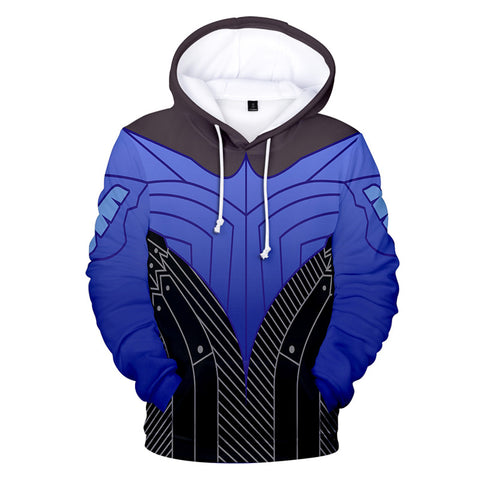 Spider Man Pullover Hoodie Cosplay Sweatshirt Jacket