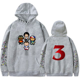 Unisex Teenager Kids Sweatshirt Cotton Tranger Things Hoodie