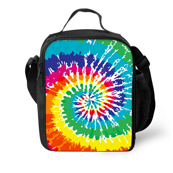 3in1 Tie Dye Backpack 3D Rucksack For Students Back To School